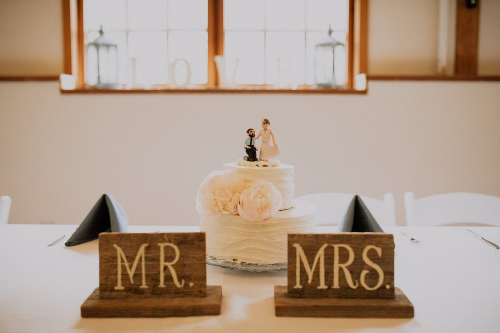 Custom cake topper courtesy of Claire's creative cousin Talitha.